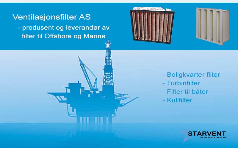 filter til marine og offshore